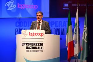 Mauro Lusetti, presidente nazionale Legacoop